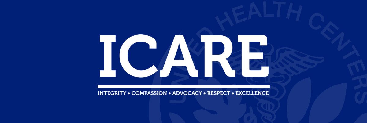Our core values are Integrity, Compassion, Advocacy, Respect, and Excellence.