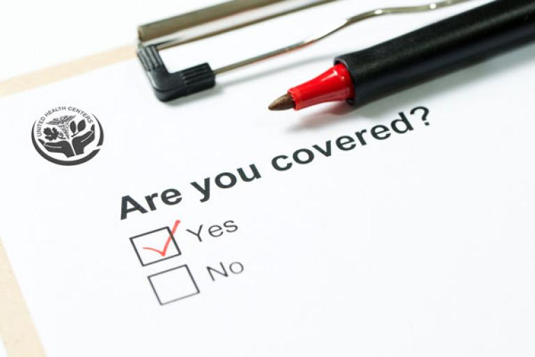 are you covered with health insurance?