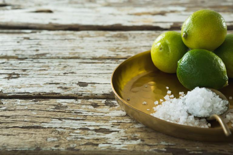salt plays a role in high blood pressure.